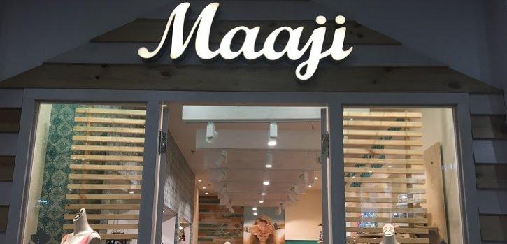 Maaji sube una marcha en Medellín y desembarca en el centro comercial Santa Fe