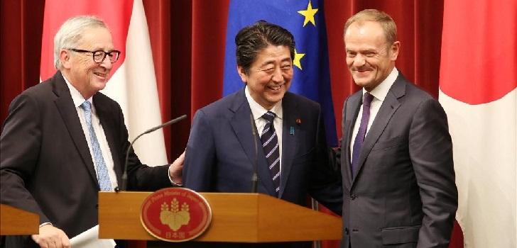 Europa y Japón pactan el 'arancel cero' para la ropa y el textil
